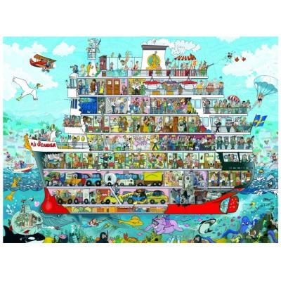 Puzzle Heye-29697 Anders Lyon: Cruise