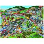 Puzzle  Heye-29698 Christoph Schöne: Traffic Jam