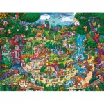 Puzzle  Heye-29792 Berman: Magical Forest