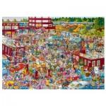 Puzzle  Heye-29796 Flea Market