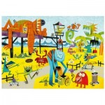 Puzzle  Heye-29798 Slaek: Monster Beach