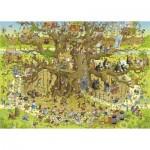Puzzle  Heye-29833 Marino Degano - Monkey Habitat