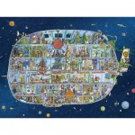 Puzzle  Heye-29841 Mattias Adolfsson - Spaceship