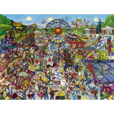 Puzzle Heye-29842 Christoph Schöne - Oktoberfest