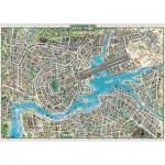Puzzle  Heye-29844 City of Pop