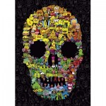 Puzzle  Heye-29850 Jon Burgerman - Doodle Skull