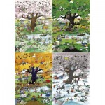 Puzzle  Heye-29873 Roger Blachon - 4 Seasons