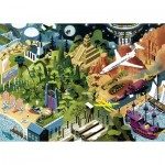 Puzzle  Heye-29883 Alexandre Clérisse - Steven Spielberg Films