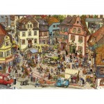Puzzle  Heye-29884 Göbel/Knorr - Market Place