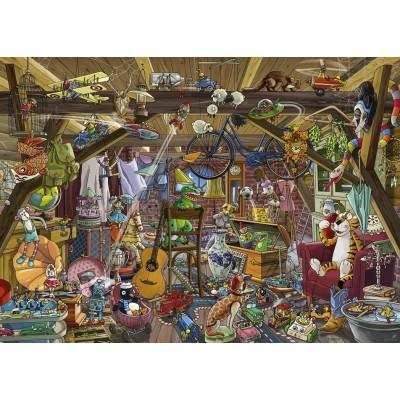 Puzzle Heye-29885 Birgit Tanck - In The Attic