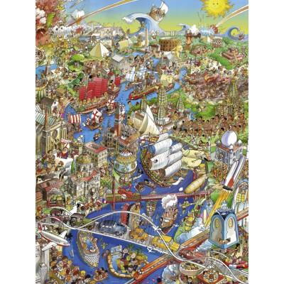 Puzzle Heye-29890 Hugo Prades - History River