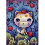 Puzzle  Heye-29895 Jeremiah Ketner - Strawberry Kitty