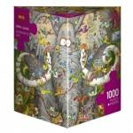 Puzzle  Heye-29921 Marino Degano - Elephants Life