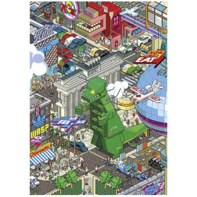 Puzzle Heye-70168-29480 EBoy : Berlin