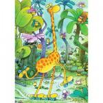 Heye-70168-29503 Jigsaw Puzzle - 150 Pieces - Mordillo : Roller Skates