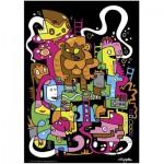 Puzzle  Heye-70169-29483 Jon Burgerman: Best score