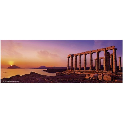 Puzzle Heye-70170-29533 Bill Heinson: The Temple of Poseidon