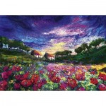Puzzle   Moy Mackay - Sundown Poppies