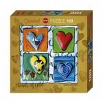 Puzzle   Stefanie Steinmayer - Hearts of Gold - 4 Times