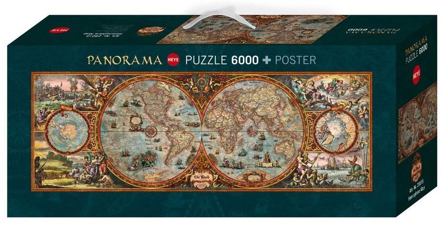 Puzzle rajko zigic hemisphere map heye 29615 6000 pieces jigsaw rajko zigic hemisphere map rajko zigic hemisphere map gumiabroncs Choice Image