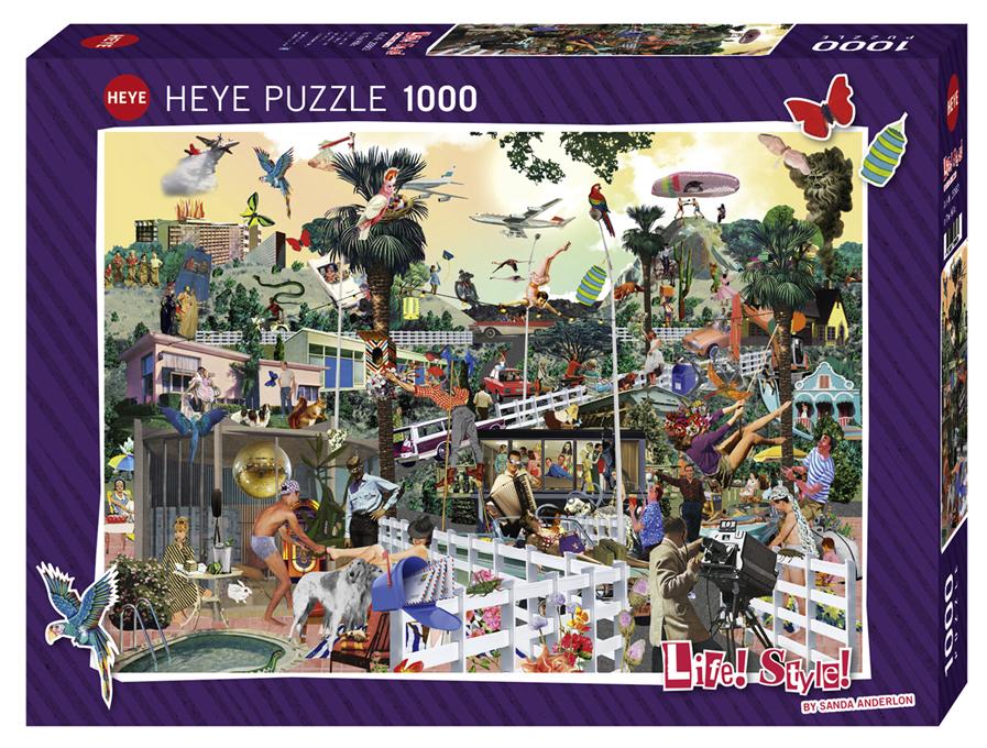 In The Hills Heye 29863 1000 pieces