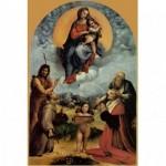 Puzzle  Impronte-Edizioni-038 Raffaello - Madonna of Foligno
