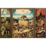 Puzzle  Impronte-Edizioni-147 Hieronymus Bosch - The Haywain Triptych