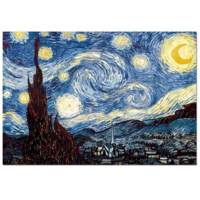 Vincent Van Gogh - Starry Night Over the Rhône