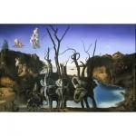 Puzzle  Impronte-Edizioni-240 Salvador Dalí - Swans Reflecting Elephants