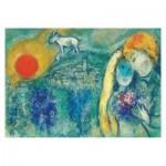 Puzzle  Impronte-Edizioni-245 Marc Chagall - The Lovers of Vence