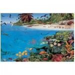 Puzzle  James-Hamilton-CS1/1054 Coral Sea Lagoon
