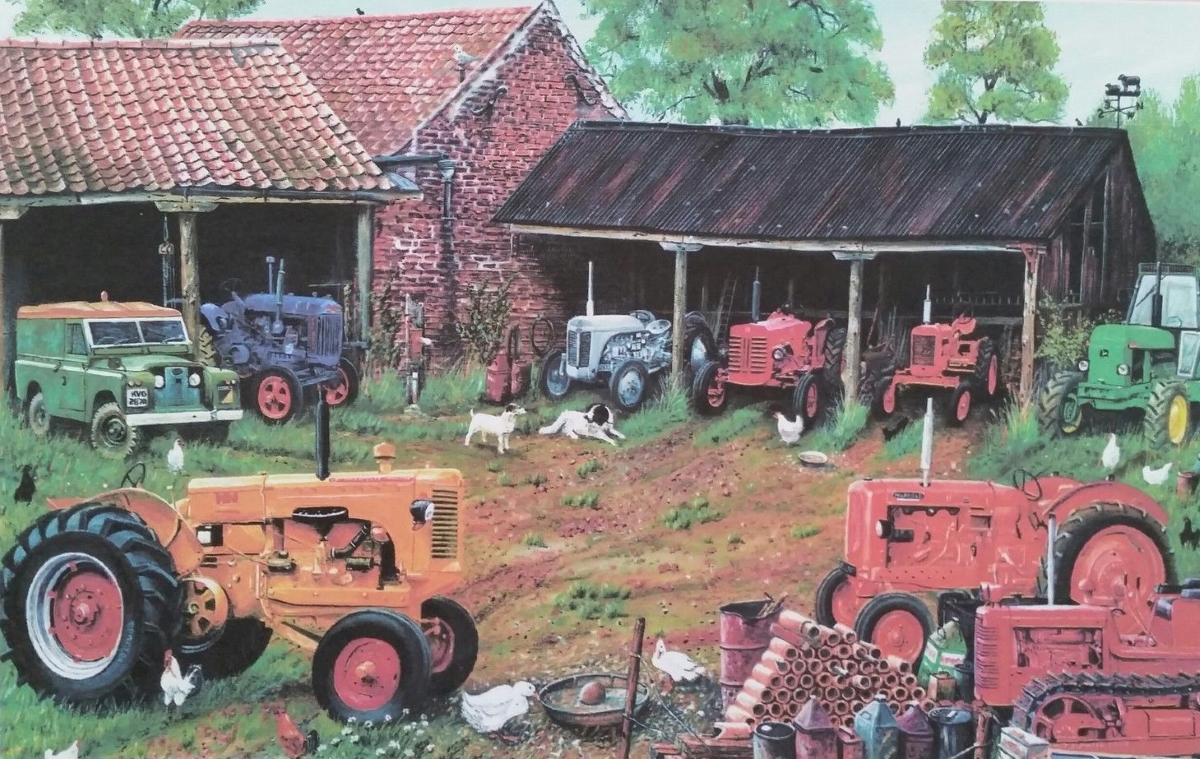 Farm Implement Pieces : Puzzle roy didwell classic tractor collection james