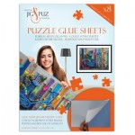 Jig-and-Puz-80006 Puzzle Glue Sheets for 1000 Pieces