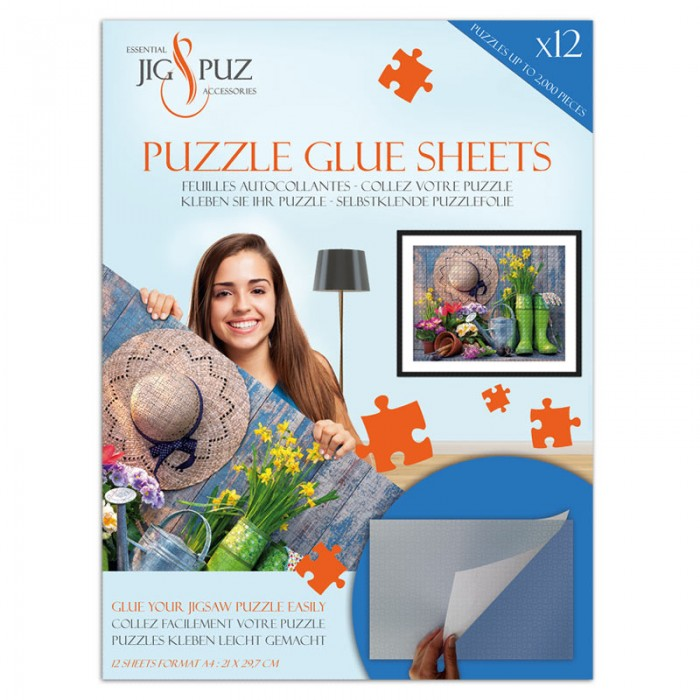 Puzzle Glue Sheets for 2000 Pieces