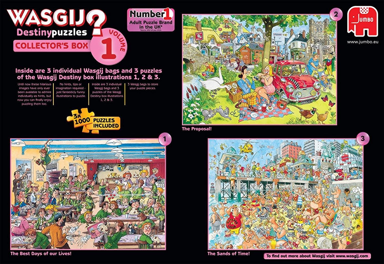 3 Jigsaw Puzzles Wasgij Destiny Collector 39 S Box 1