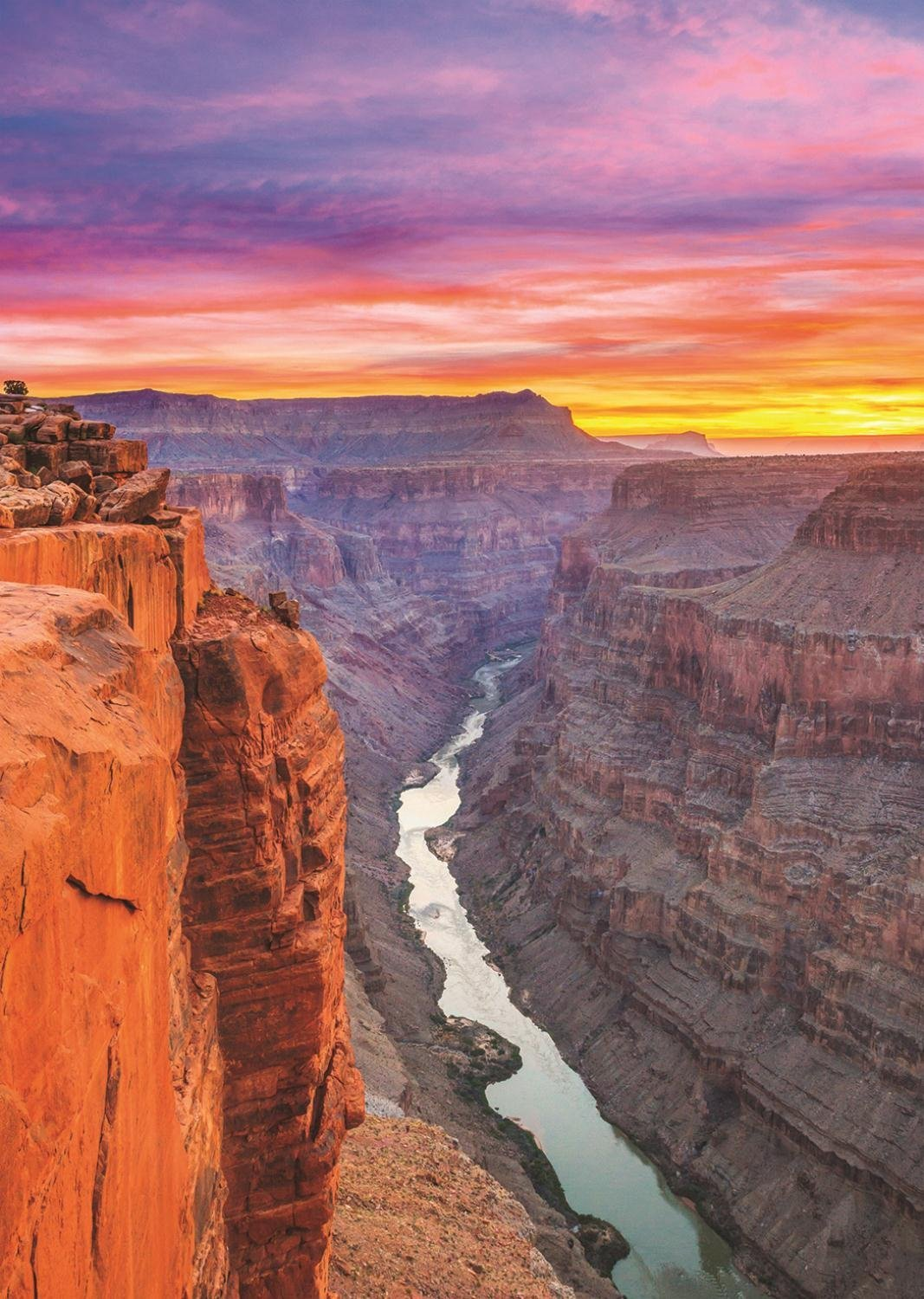 puzzle grand canyon jumbo18399 500 pieces jigsaw puzzles