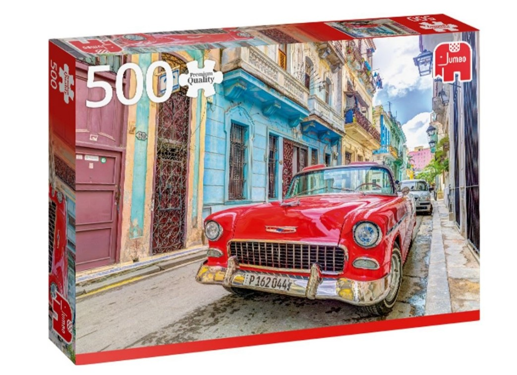 Puzzle Havana, Cuba Jumbo-18803 500 pieces Jigsaw Puzzles ...