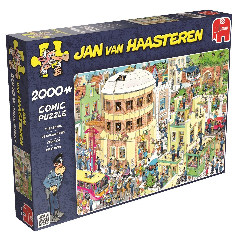 Puzzle jan van haasteren the escape jumbo 19016 2000 for Escape puzzle