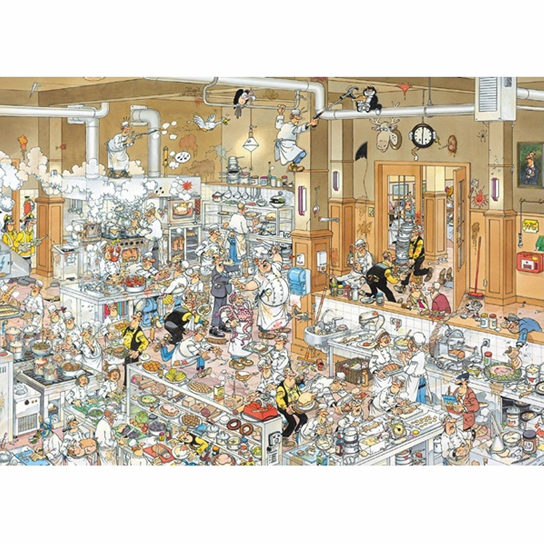 Jigsaw Puzzle - 1000 Pieces - Jan van Haasteren - In the Kitchen ...