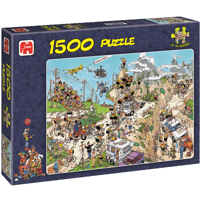 jigsaw puzzle jan van haasteren 1 500 pieces the tour de. Black Bedroom Furniture Sets. Home Design Ideas
