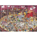 Jumbo-01470 Jigsaw Puzzle - 1000 Pieces - Jan Van Haasteren : At the Circus