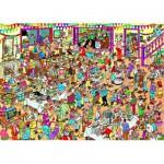 Jumbo-01489 Jigsaw Puzzle - 1000 Pieces - Jan Van Haasteren : Special Birthday