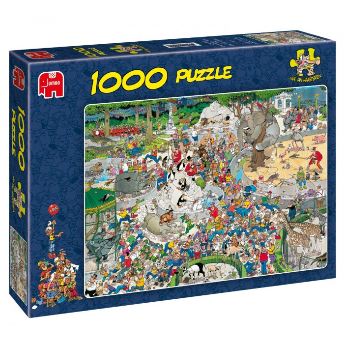 Jigsaw Puzzle - 1000 Pieces - Jan van Haasteren: The Zoo