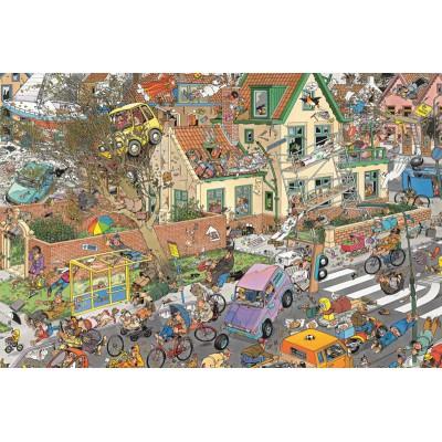 Jumbo-01498 Jigsaw Puzzle - 1500 Pieces - Jan Van Haasteren : The Storm