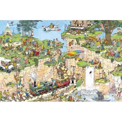 Jumbo-01555 Jigsaw Puzzle - 1500 Pieces - Jan Van Haasteren : The Golf Class
