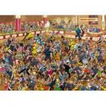 Jumbo-01617 Jigsaw Puzzle - 1000 Pieces - Jan van Haasteren: Ballroom Dancing