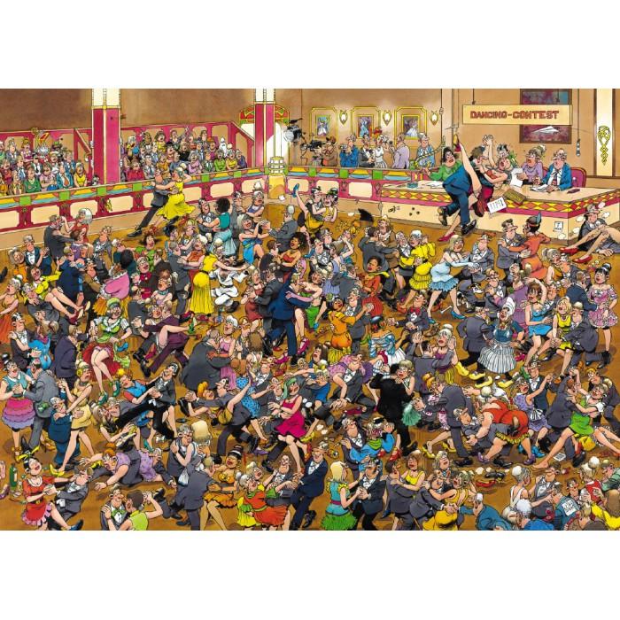 Jigsaw Puzzle - 1000 Pieces - Jan van Haasteren: Ballroom Dancing