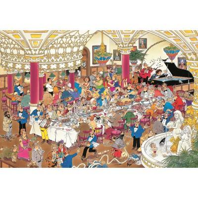 Jumbo-01642 Jigsaw Puzzle - 1000 Pieces - Jan van Haasteren: The Wedding