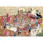 Jumbo-01642 Jigsaw Puzzle - 1000 Pieces - Jan van Haasteren: The Wedding