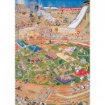 Jumbo-01666 Jigsaw Puzzle - 1000 Pieces - Jan Van Haasteren : Olympic Games